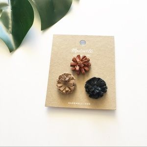 Madewell   leather pins